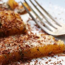 Roasted spiced pineapple