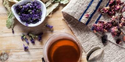 Slimming herbal tea
