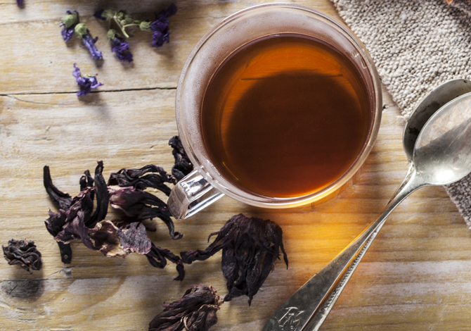 Detoxifying herbal tea