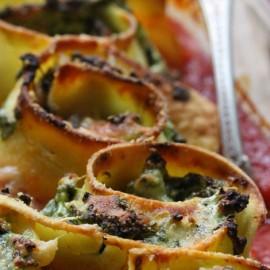 Gluten-Free Ricotta & Spinach Cannelloni