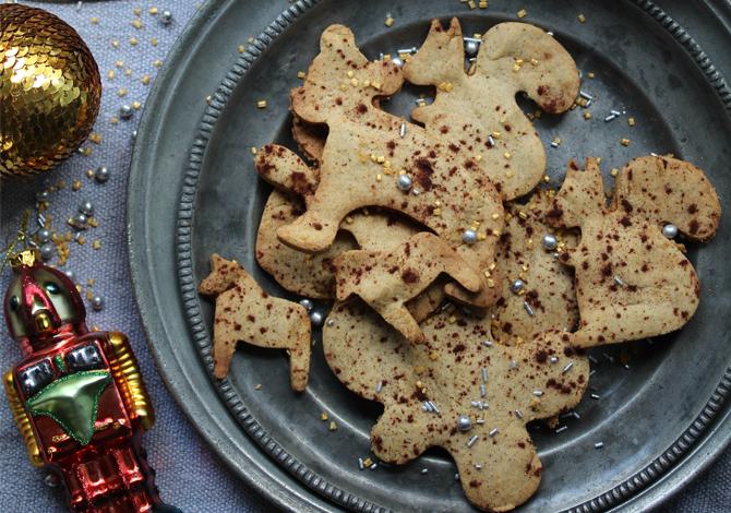 Gluten-free Christmas Shortbread Cookies