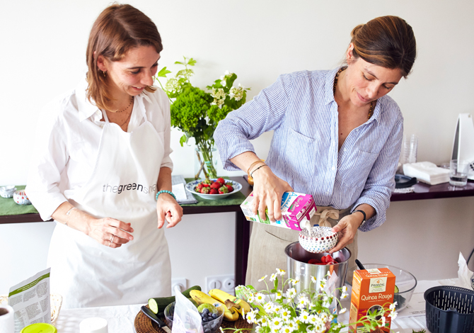 """Healthy Snacks"" cooking class in Paris"
