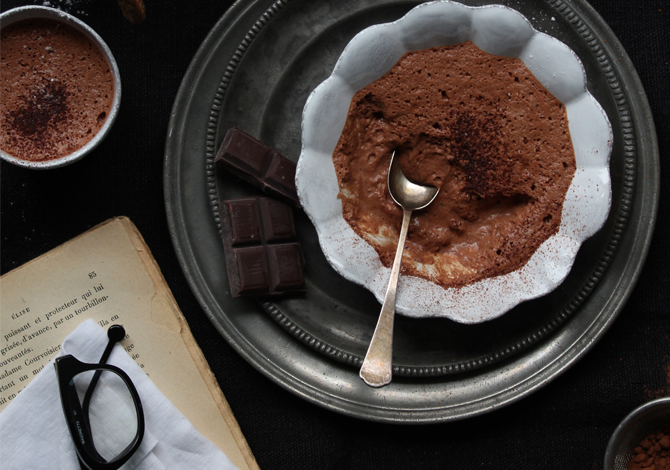 Egg-free chocolate mousse