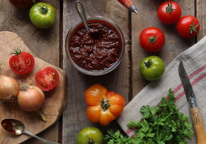 Summer Tomato Chutney